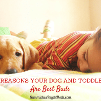 They say a dog is a man's best friend. And also a toddler's. Here are 8 reasons your dog and toddler are similar.