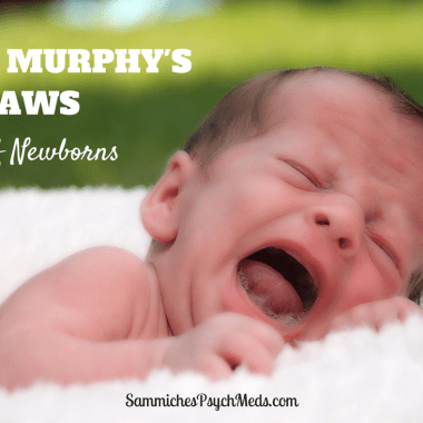Bringing a newborn home? Without fail, you will experience at least one of these murphy's laws of newborns.