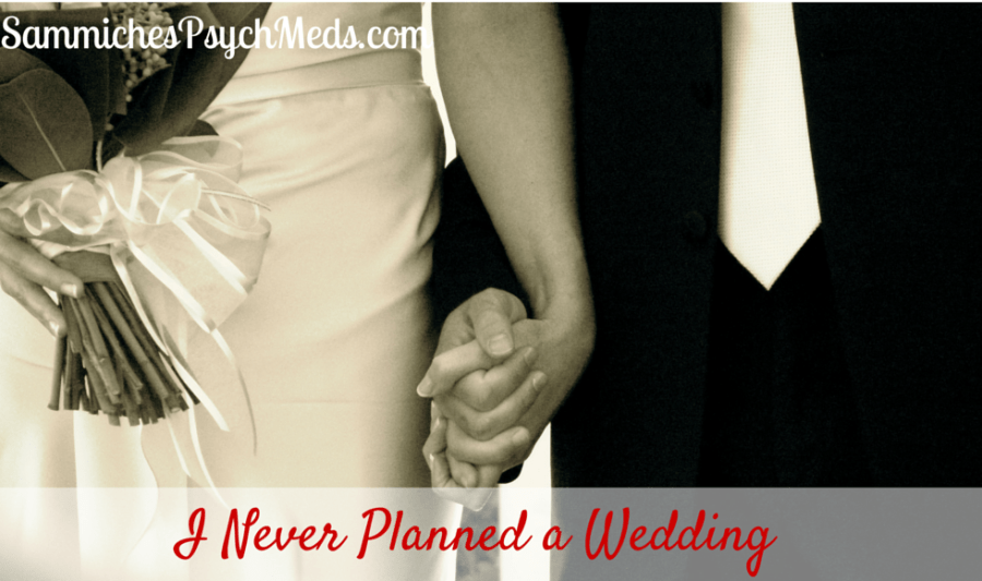 """I didn't plan a wedding. I wanted a marriage. When I met a cute young boy on a hot August evening, every internal siren screamed, """"I had found my one."""""""