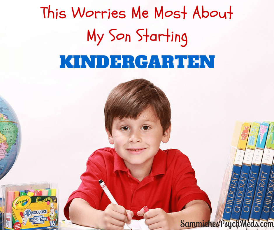 I have many fears about my son with autism starting kindergarten. But how his actions and others' perceptions of him will affect him long-term plague me the most.