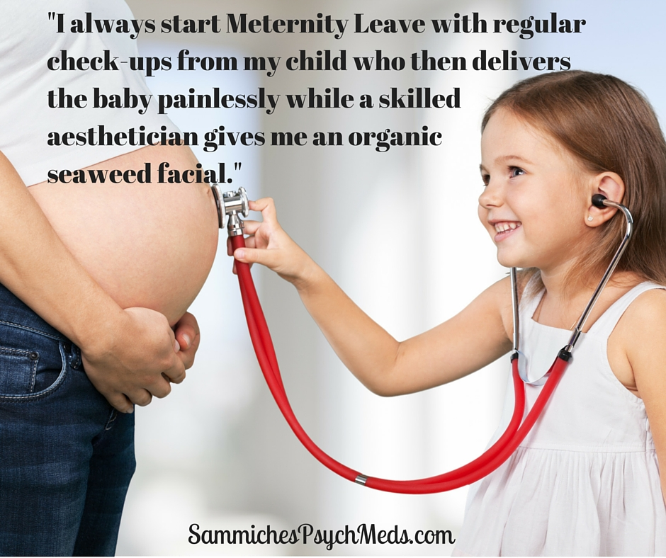 How Moms Spend Meternity Leave, According to Stock Photos