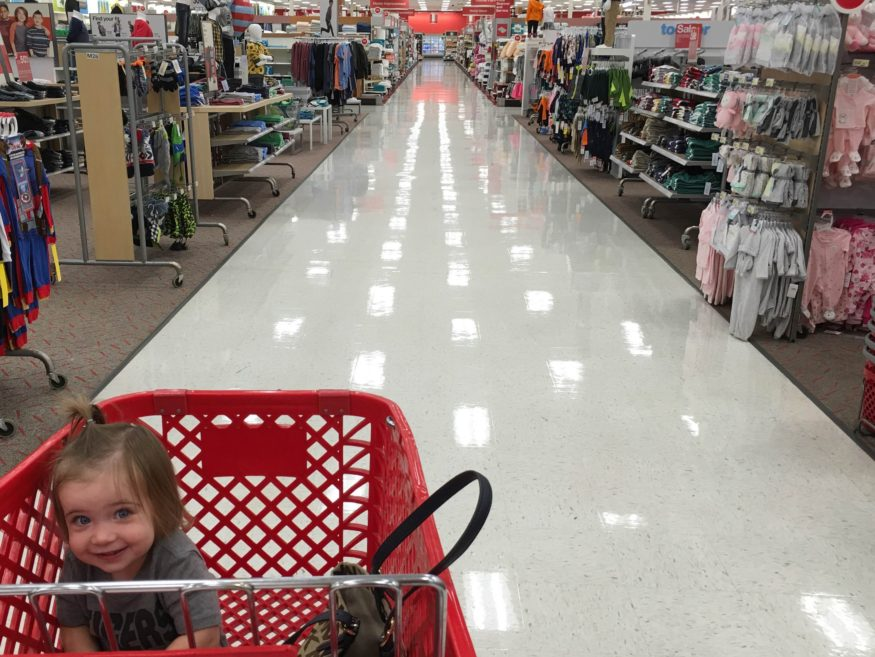 The in-a-rush mom with a cranky toddler. The leisurely strolling mom happy to be out of the house. The dollar section mom and the mom will a $300 cart. We are all in the same tribe -- Target Moms.
