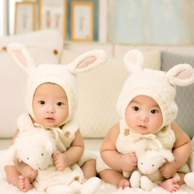 If you find yourself inclined to ask a mom of twins if it is harder than having only one kid, please slap yourself. Of course it is.