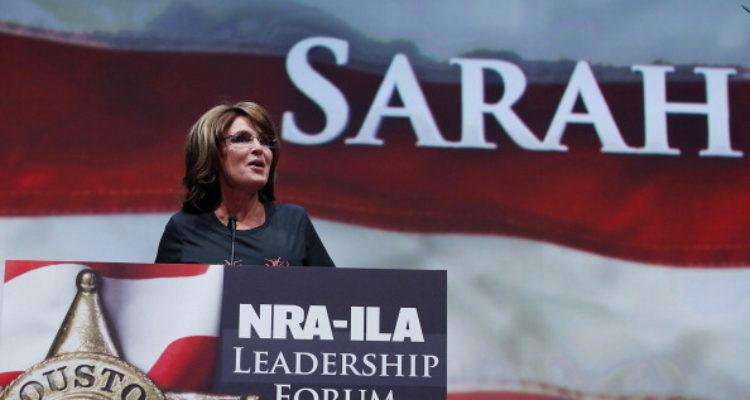 """Sarah Palin Insists: """"Jesus Wants Us to Carry Guns"""""""