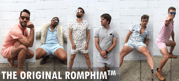 The Male Romper Is Here Because We Apparently Live in a Lawless Fashion Dystopia