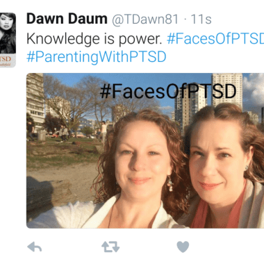 PTSD affects people from all walks of life. Join the movement, share your story, and know that you are not alone.