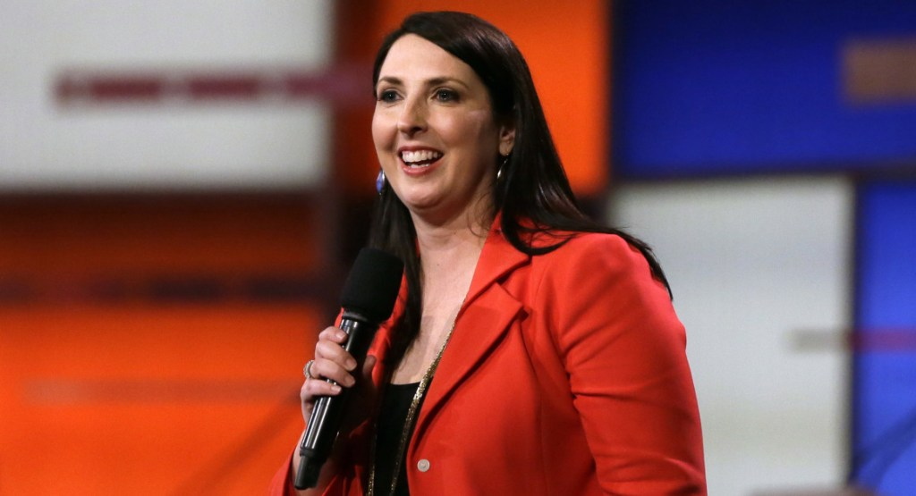 RNC Chairwoman Refutes Michelle Obama's Claim GOP Is 'All White,' Says It's Only 99.3% White
