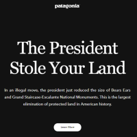 Patagonia Joins Fight Against Trump's Dismantling of National Monuments