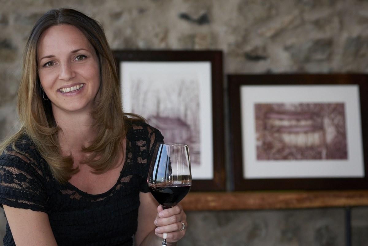 Melissa Proudlock creator of Painted with Wine