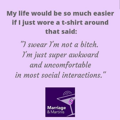 Introvert Memes by Sammiches and Psch Meds and marriageandmartinis