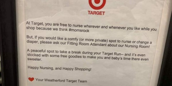 Target Is an Ally to Breastfeeding Moms and This Is Why We Love Them