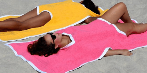 Part Beach Towel, Part Swimsuit, Part Dress: The All-In-One Bikini For $199