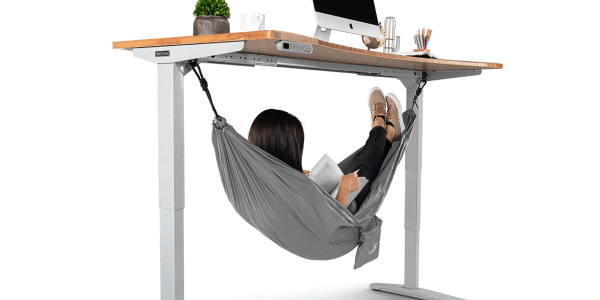 The Under Desk Hammock Is The Work Accessory We All Need