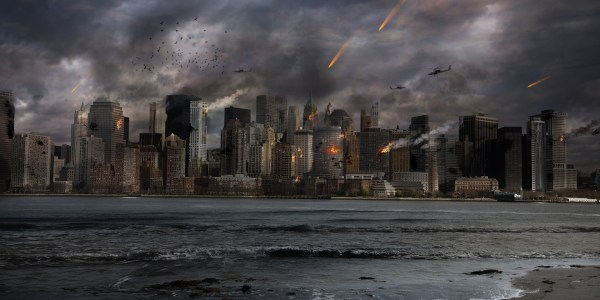 Mother Tells Kids 'It's The End Of The World,' Regrets It As World Actually Ends