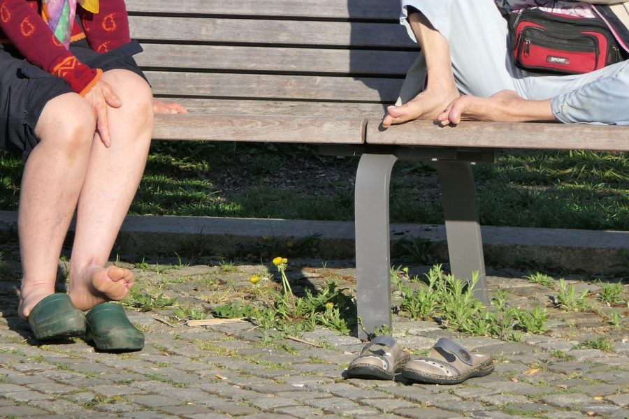 My Big Feet and Other Ailments of Middle Age