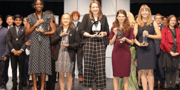 5 Girls Win Top Spots In Middle School National STEM Contest In History-Making Sweep