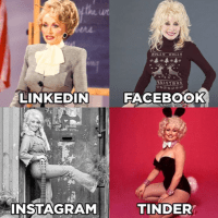 Dolly Parton started the trend, and it's caught on like wildfire since, with many of us hopping on the train to share our own grid of photos.