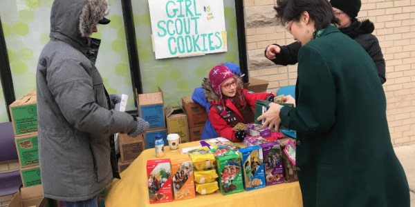 Girl Scouts Set Up Cookie Shop at Weed Dispensary and Sell 100s of Boxes