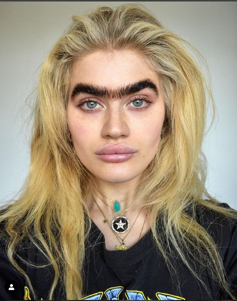 Next time you look in the mirror and question your poor, forgotten, overgrown brows, don't. Free your follicles.