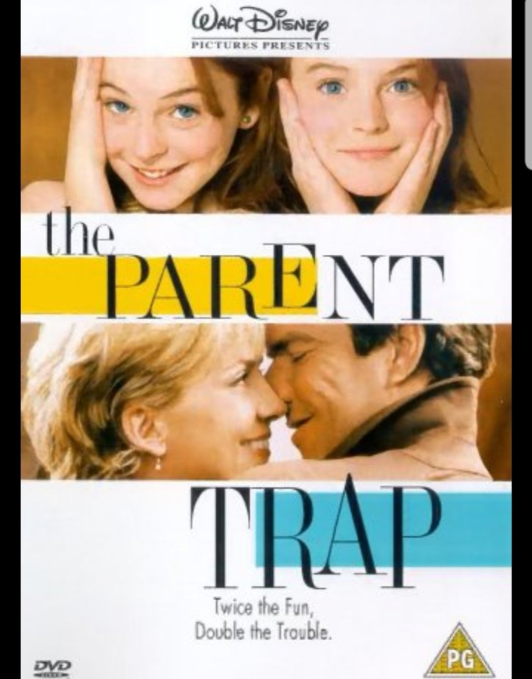 An advice column by Elizabeth James and Nick Parker, the Mom and Dad in The Parent Trap (the 1998 remake, starring Lindsay Lohan).