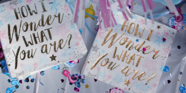 Three Completely Creative, Cute & Clever Gender Reveal Party Ideas