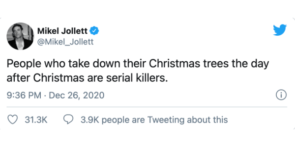 11 Hilarious Tweets About Un-Decorating After the Holidays