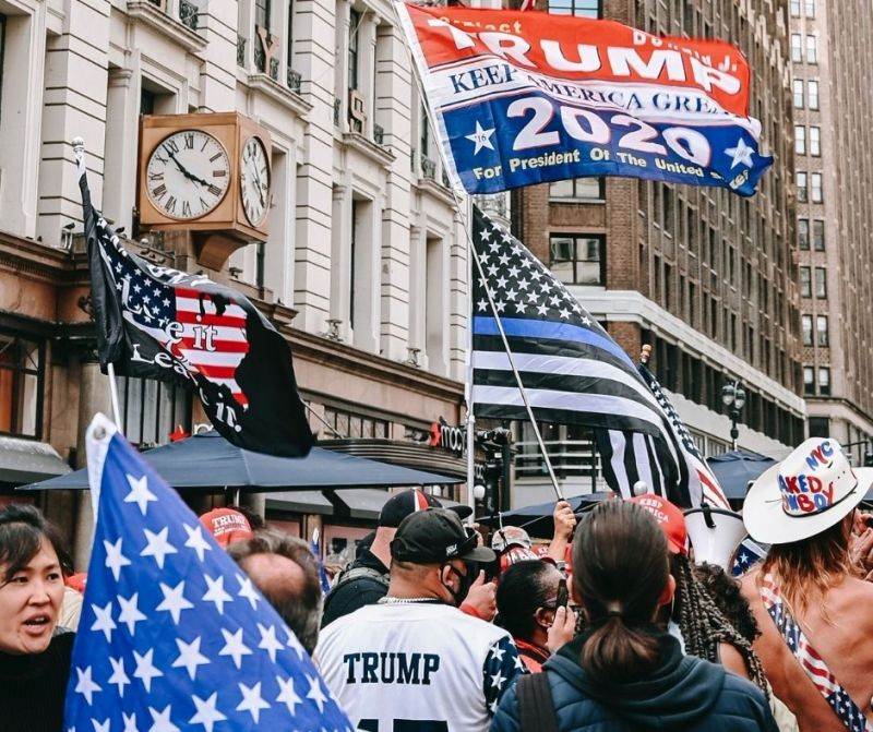Before too long, there was a stark divide in this country, and you were either MAGA, with everything it encapsulated, or you were Anyone But Trump.