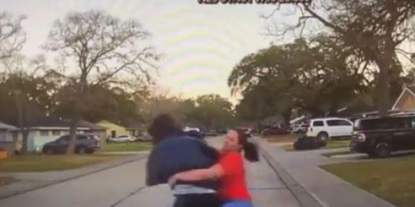 Texas Mom Demonstrates Classic Mama Bearkwando And Tackles A Peeping Tom