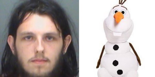 Afternoon Delight: Florida Man Humps Olaf and Unicorn Plushies