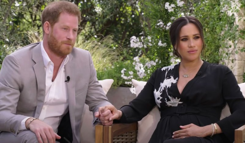 Meghan Markle shares news that she contemplated suicide in Oprah interview.