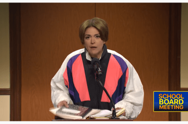 SNL hilariously nails the insanity of school board meetings