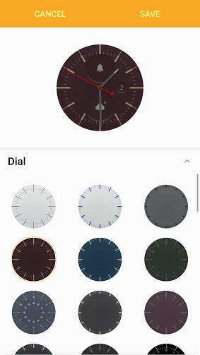 Gear Manager stylize dial
