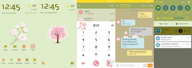 Samsung Galaxy Theme - CherryBlossom