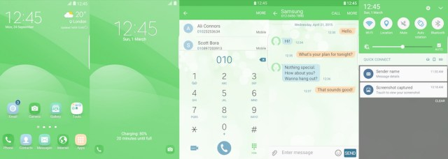 Samsung Galaxy Theme - EiD Simple Green