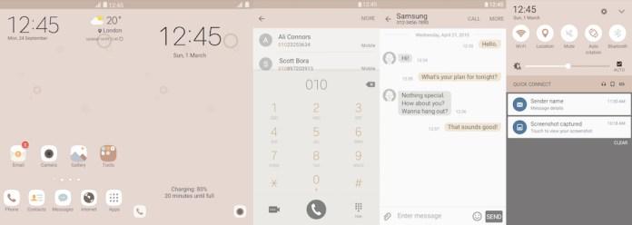 Samsung Galaxy Theme - [V] Cocoa
