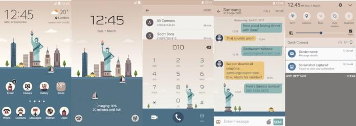 Samsung Galaxy Theme - New York _MINDON Design