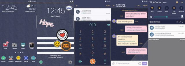 Samsung Galaxy Theme - [V] Denim
