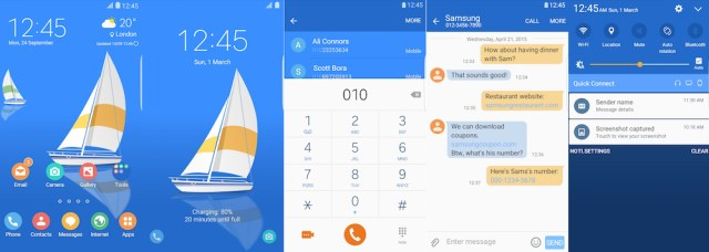 Samsung Galaxy Theme - Yacht