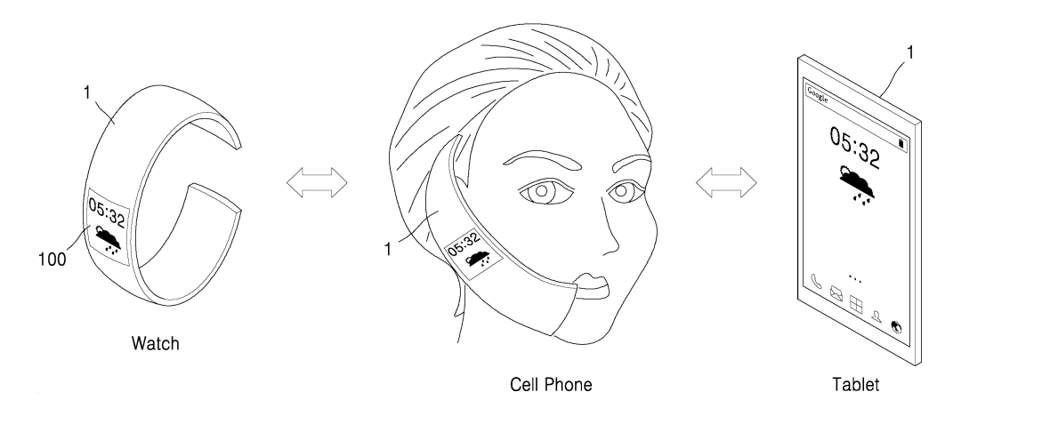 Patent application shows 3-in-1 device based on a