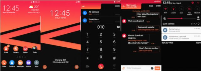 Samsung Galaxy Theme - Eminence UI