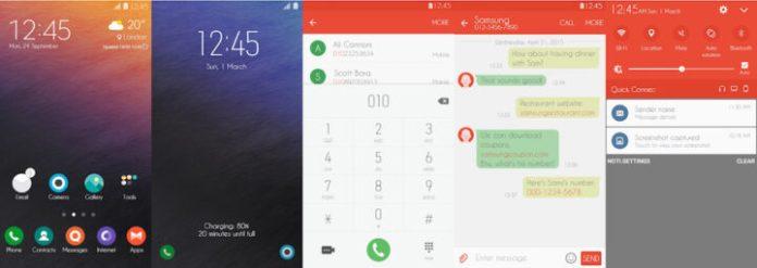 Samsung Galaxy Theme - OrangeUI