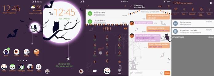 Samsung Galaxy Theme - [V] Halloween (Live)