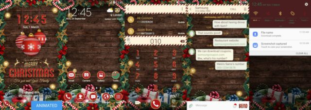 Samsung Galaxy Theme - EiD - Christmas Tree (Live)