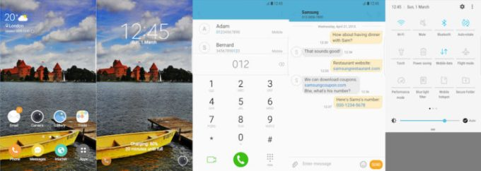 Samsung Galaxy Theme - Yellow Boat - Free