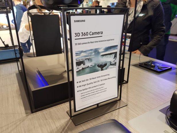 Samsung 3D 360 Camera - 01