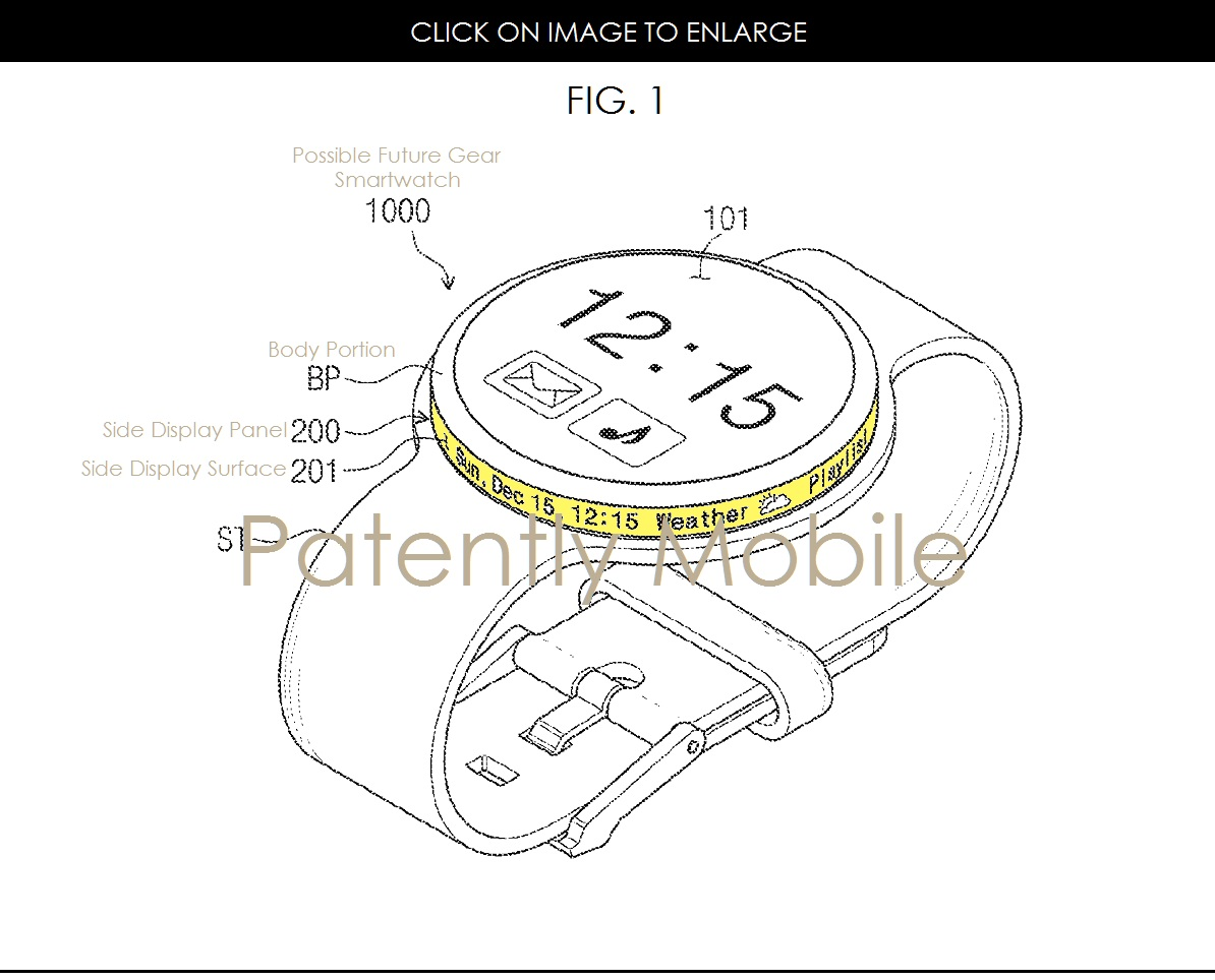 Future Gear Smartwatches May Have A Rotary Dial Display