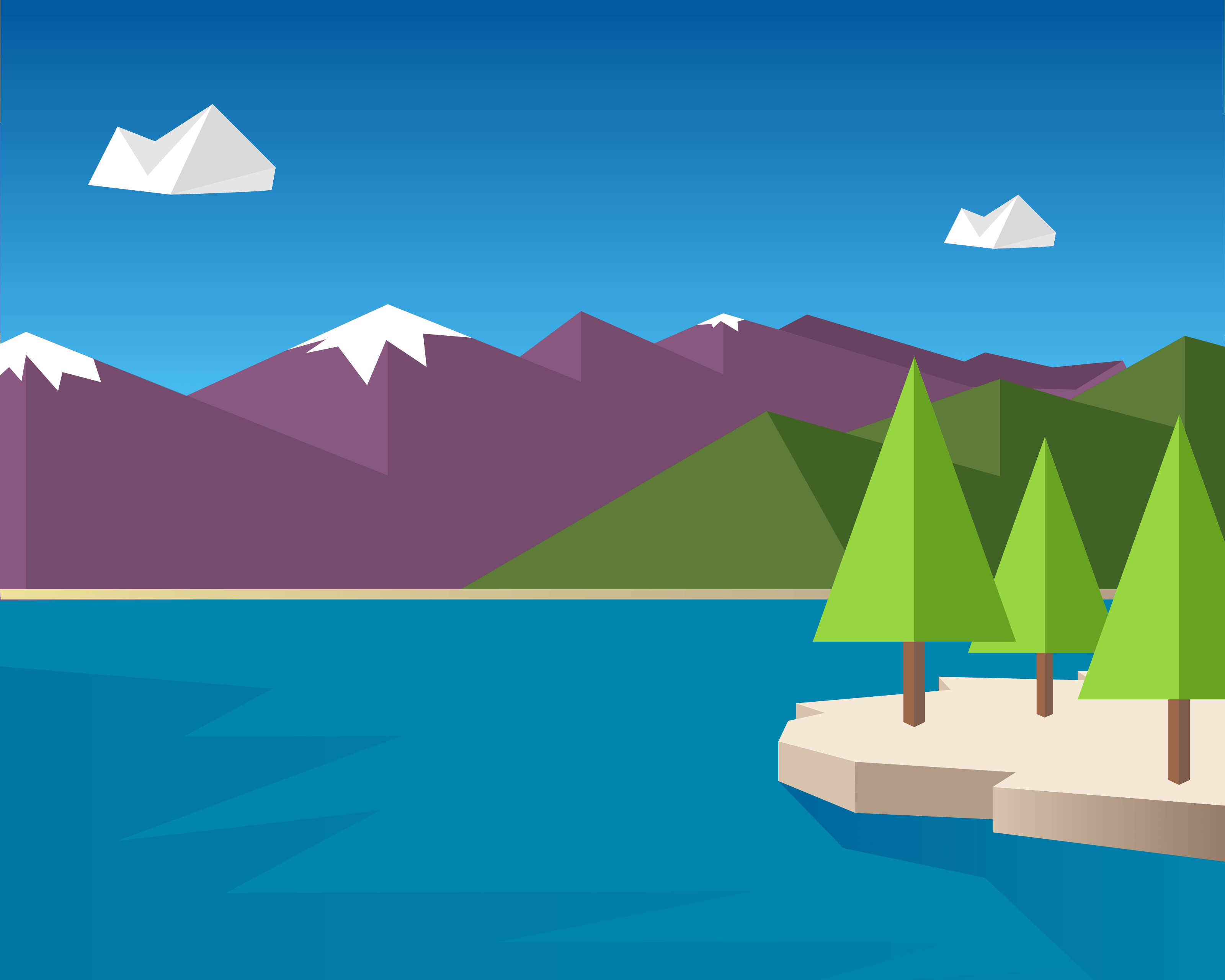 Wallpaper Wednesday: Animated Landscapes