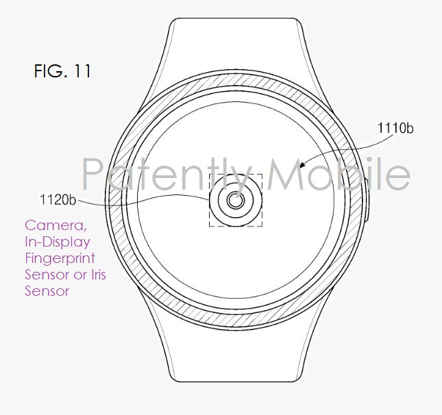 Samsung patents an in-display fingerprint technology for