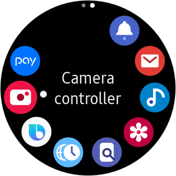 Galaxy Watch Active Camera Controller app lets you take pictures ...