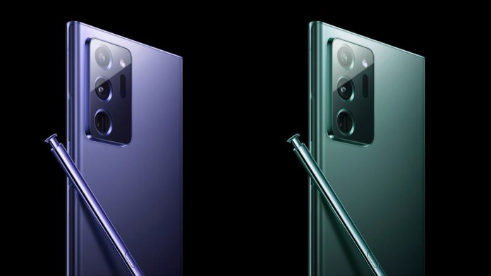 This Is How Galaxy Note 20 Ultra Could Look In Blue And Mint Green Sammobile